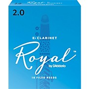 Rico Royal Eb Clarinet Reeds, Box of 10