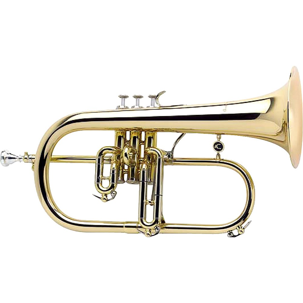 Antoine Courtois Paris Ac159r-1-0 Reference Bb Flugelhorn Silver Rose Brass Bell 1274228085941