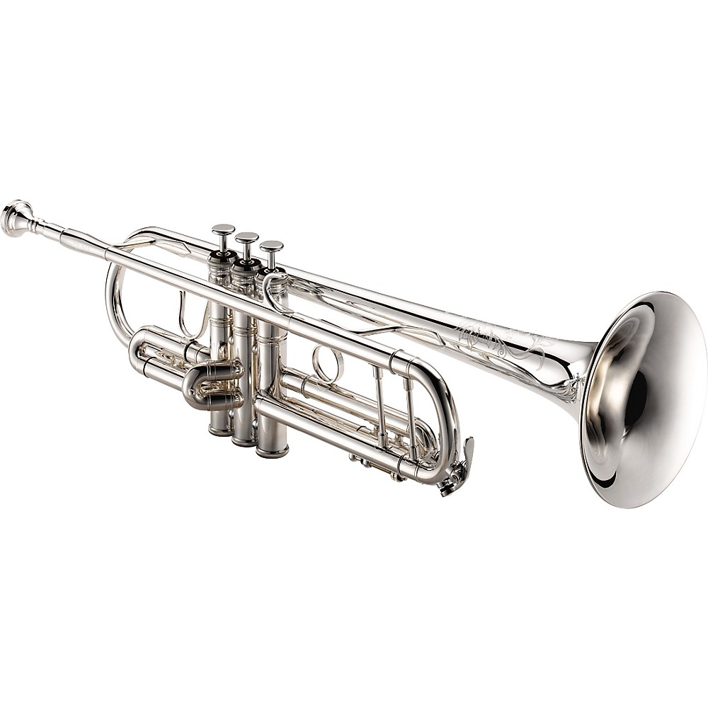 XO 1604S Professional Series Bb Trumpet 1604S Silver - Yellow Brass Bell 1274034481056