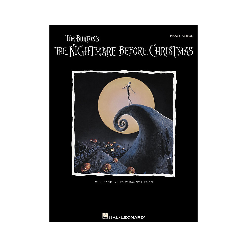 Hal Leonard Tim Burton's the Nightmare Before Christmas 1274034472501