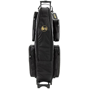 Gard Saxophone Wheelie Bag In Synthetic With Leather Trim Baritone Only