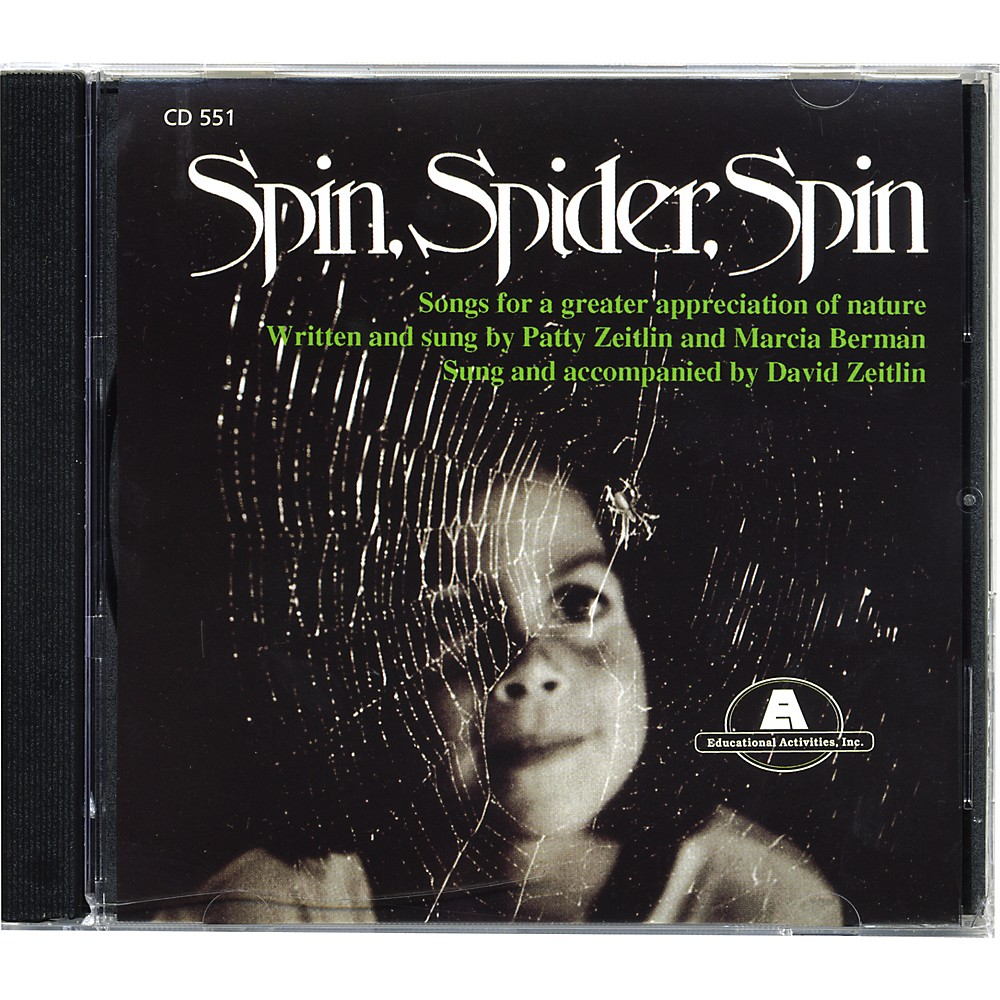 Educational Activities Spin Spider Spin CD 1274228065406
