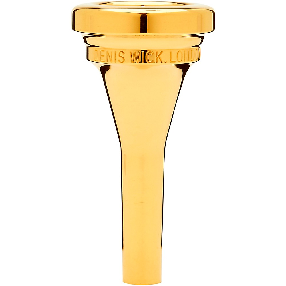 Denis Wick Steven Mead Baritone Mouthpiece In Gold  4 1274228081591