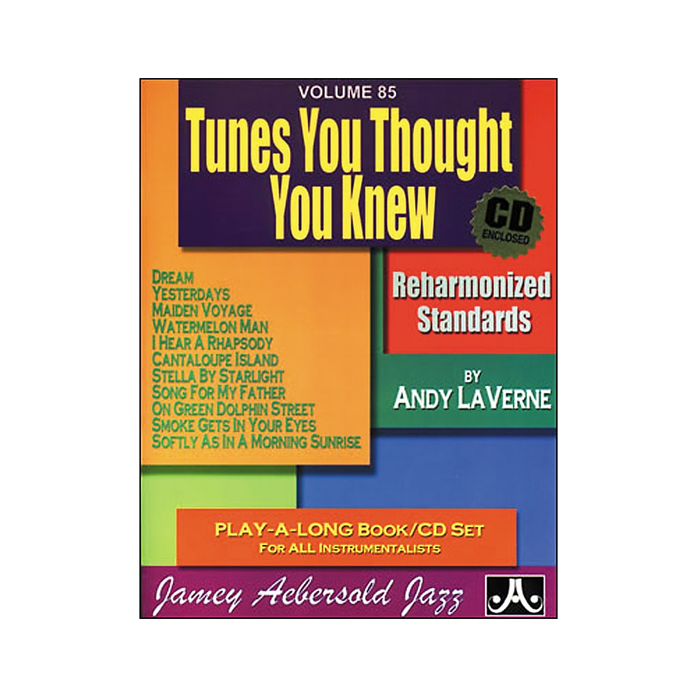 Jamey Aebersold (Vol. 85) Tunes You Thought You Knew 1275776906214