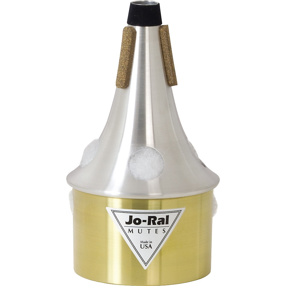 Jo-Ral Tpt-4B Brass Bottom Trumpet Bucket Mute 1274319726546