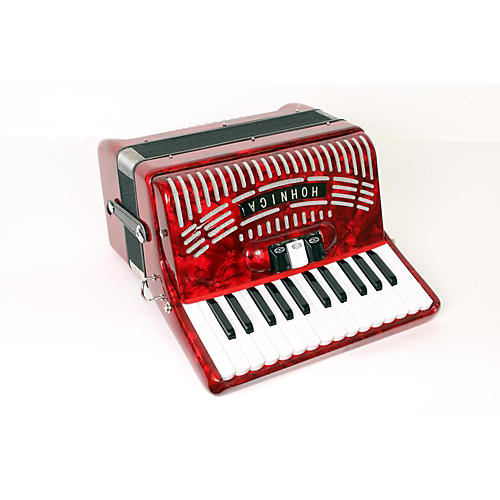 Hohner 48 Bass Entry Level Piano Accordion-thumbnail