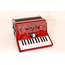 Hohner 48 Bass Entry Level Piano Accordion Level 2 Red 888366047118