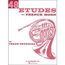 G. Schirmer 48 Etudes for French Horn