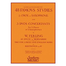 Southern 48 Famous Studies (2nd and 3rd Part) (Oboe) Southern Music Series by Franz Wilhelm Ferling