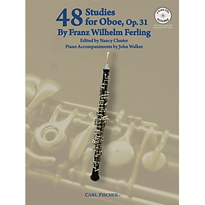 Carl Fischer 48 Studies For Oboe Book/CD