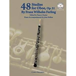 Carl Fischer 48 Studies For Oboe Book/CD by Carl Fischer