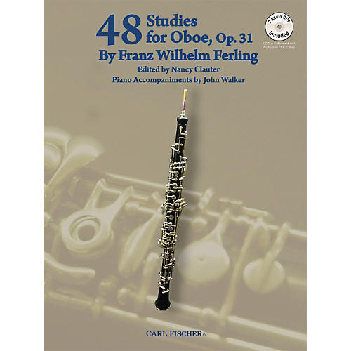 Carl Fischer 48 Studies For Oboe Book/CD