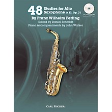 Carl Fischer 48 Studies for Alto Saxophone in Eb, Op. 31 Book/CD