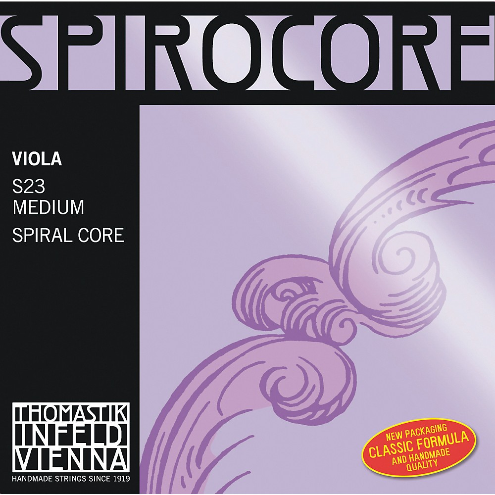 "Thomastik Spirocore 15+"""" Viola Strings 15+ In. G String"" 1274115036959"
