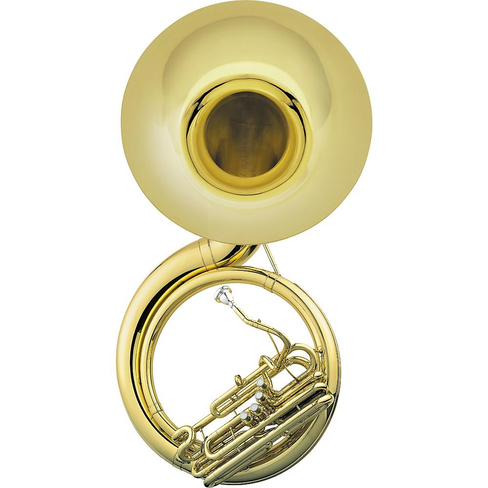 Jupiter 590 University Quad Series Brass 4-Valve BBb Sousaphone Lacquer