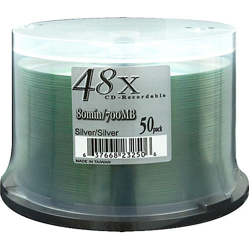 Musician's Friend 48X Silver CDR/50-Piece Spindle-thumbnail