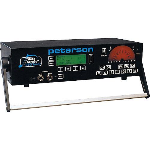 Peterson 490 8-Octave AutoStrobe Tuner-thumbnail