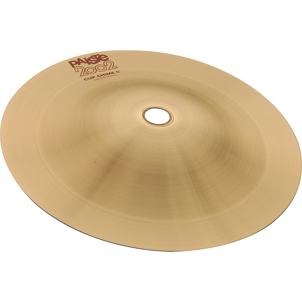 Paiste 2002 Cup Chime Cymbal 6 In. 1274115038823