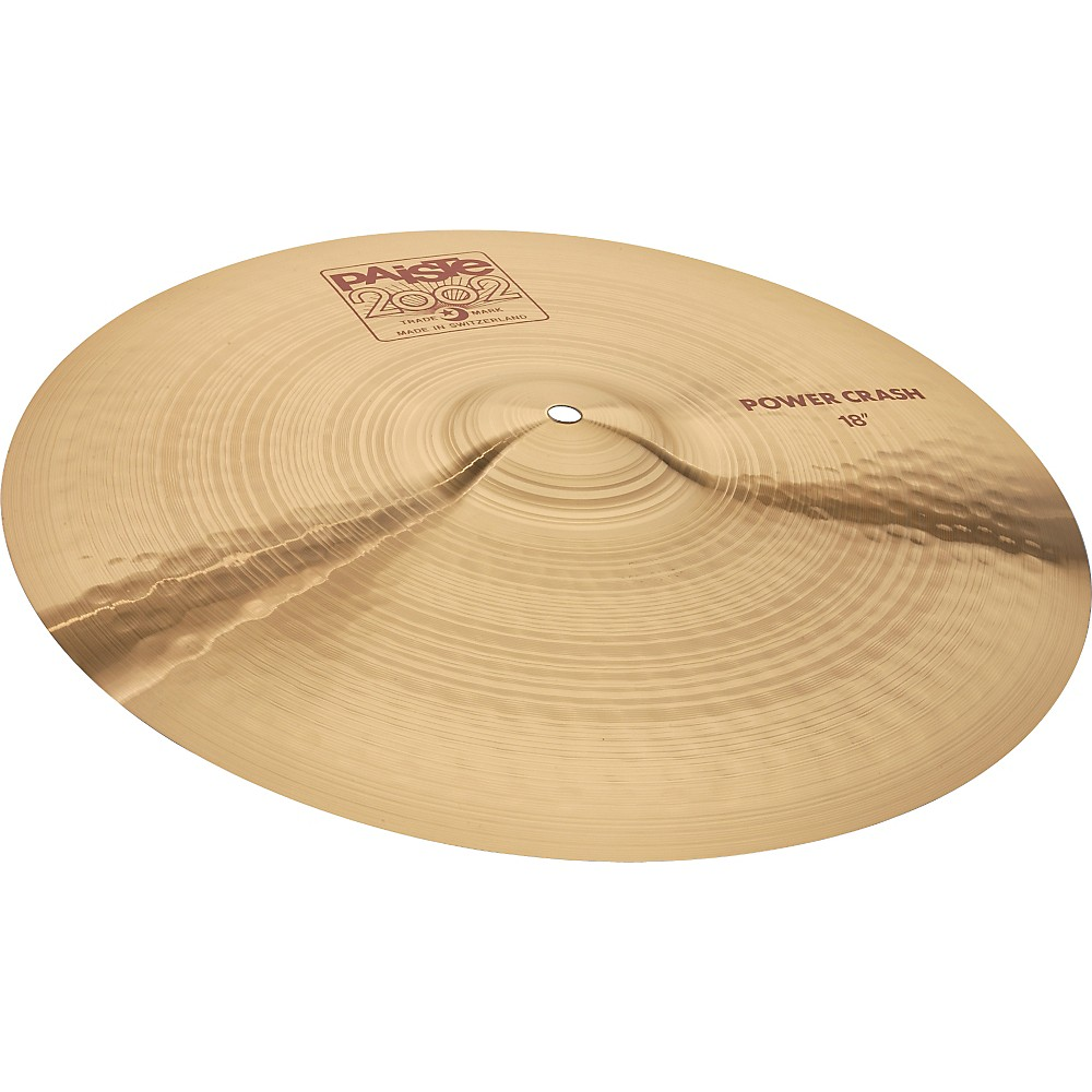 Paiste 2002 Power Crash 20 In. 1274115039193