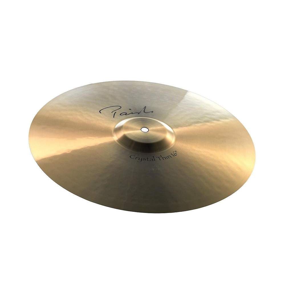 Paiste Signature Crystal Thin Crash Cymbal 20 in. 1274115039232