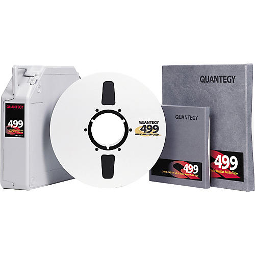 Quantegy 499 Gold 10.5 In/ 2 In 2500 Ft  Mastering Tape