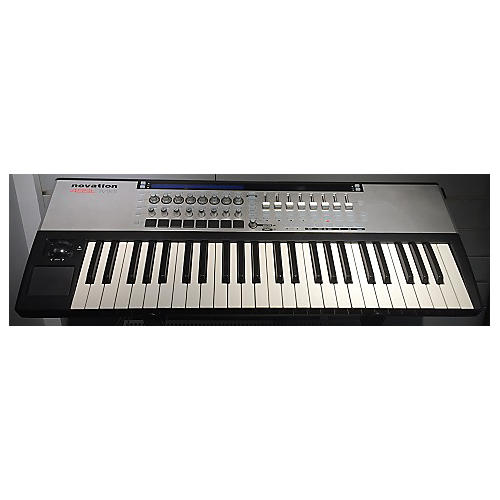 used novation 49sl mkii midi controller guitar center. Black Bedroom Furniture Sets. Home Design Ideas