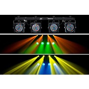 Chauvet 4BAR Flex LED Wash Light System with  DMX Capability