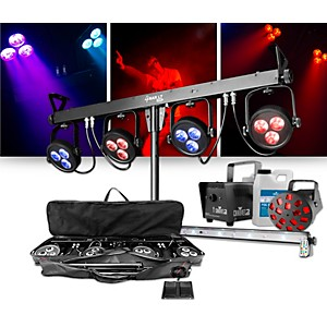 CHAUVET DJ 4BAR LT USB Wash Light System with JAM Pack Diamond Lighting Pac... by CHAUVET DJ