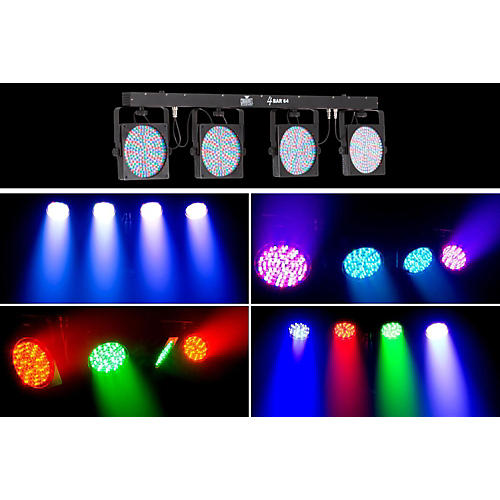 Chauvet 4BAR64 Complete Stage Wash System