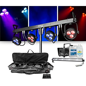CHAUVET DJ 4Bar LT USB Wash Light System with Jam Pack Emerald Lighting Pac... by CHAUVET DJ