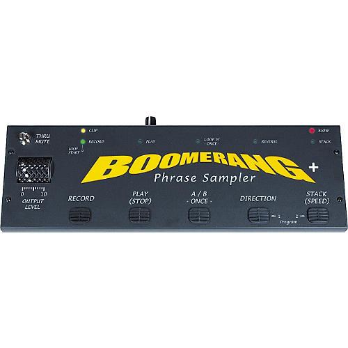 Boomerang 4MB Phrase Sampler Plus