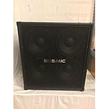 Seismic Audio 4X10 Bass Cabinet