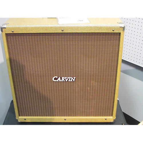 Used Carvin 4X10 TWEED Guitar Cabinet | Guitar Center