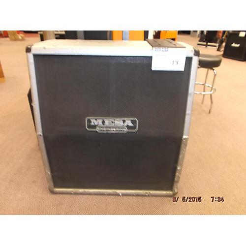 Mesa Boogie 4X12 Cab Silver Guitar Cabinet Silver