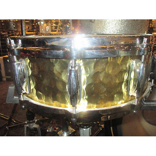 Gretsch Drums 4X14 HAMMERED BRASS Drum