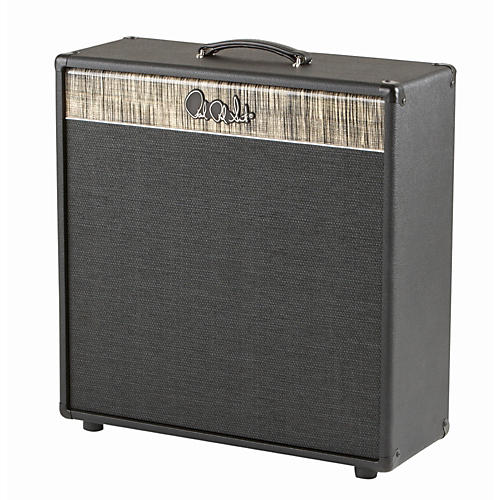 PRS 4x10 Pine Guitar Cabinet Stealth Tolex Charcoal Grill