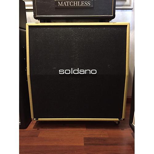 Soldano 4x12 120W Slant Texas Tweed Guitar Cabinet