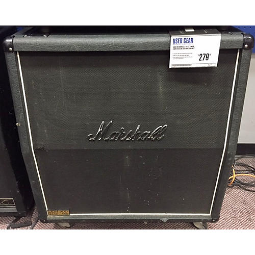 Marshall 4x12 1960A 280w Black Guitar Cabinet-thumbnail