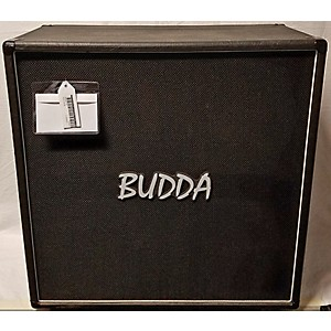 Pre-owned Budda 4x12 EXTENSION Cabinet CLOSED BACK 300 Watt Guitar Cabinet by Budda