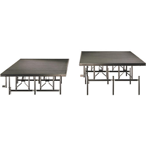 Midwest Folding Products 4x8 Dual-Height Portable Stage & Seated Riser-thumbnail