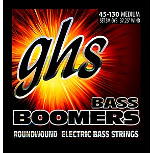 GHS 5-5M-DYB 5 String Bass Strings with Low-B by GHS