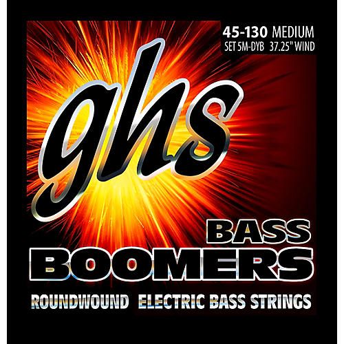 GHS 5-5M-DYB 5-string Bass Strings with Low-B-thumbnail