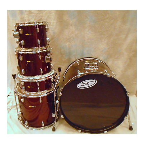 used sound percussion 5 piece drum set drum kit guitar center. Black Bedroom Furniture Sets. Home Design Ideas