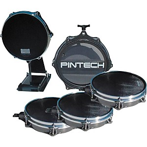 Pintech 5-Piece Drum Pad Bundle by Pintech