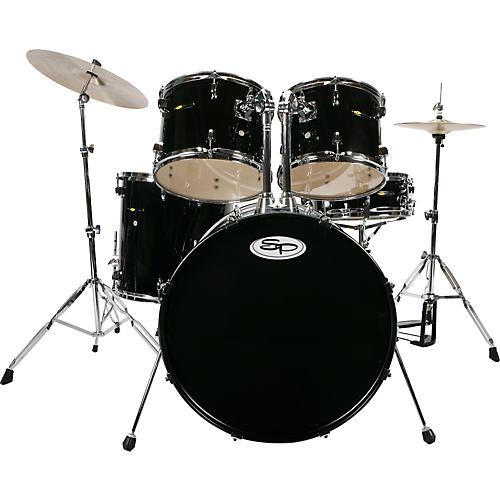Sound Percussion Labs 5-Piece Drum Set with Cymbals
