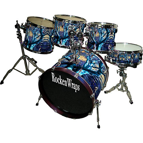 RockenWraps 5-Piece Drum Wrap Kit