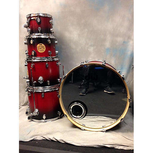 PDP by DW 5 Piece FS Faded Cherry Drum Kit