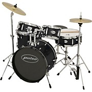 5-Piece Junior Drum Set Black