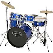 5-Piece Junior Drum Set Metallic Blue