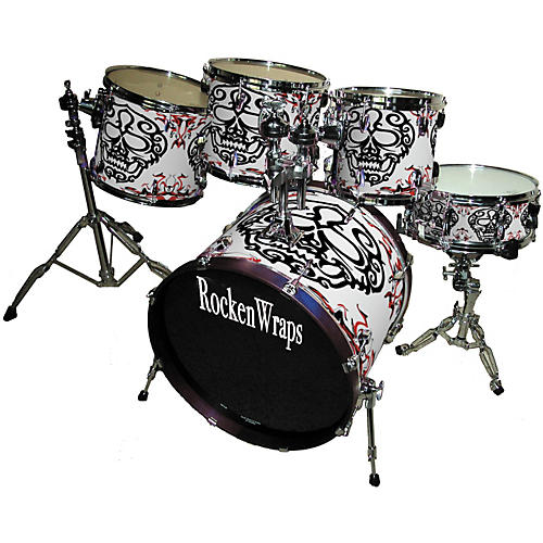 RockenWraps 5-Piece Kit Hallowed Head